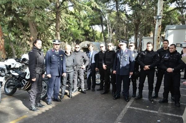 10 μοτοσυκλέτες δώρισε ο Δημήτρης Γιαννακόπουλος στην ΕΛ.ΑΣ.