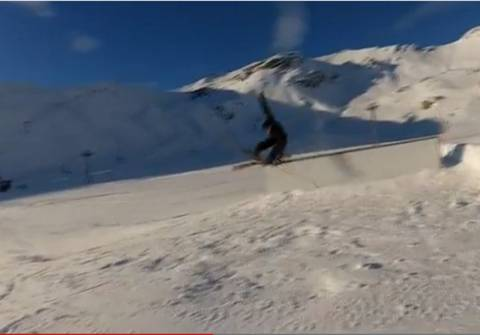 Bίντεο: Δείτε απίστευτες τούμπες στο χιόνι!