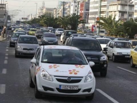Χάος στους δρόμους της Αθήνας - Μποτιλιάρισμα παντού
