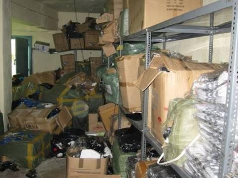 Δείτε τι έκρυβε αποθήκη στη Θεσσαλονίκη