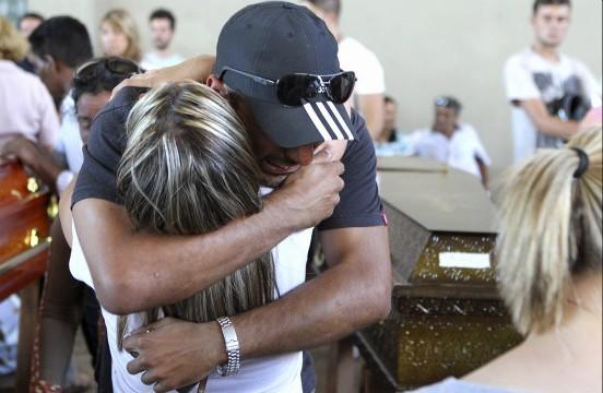 Η Βραζιλία θρηνεί για τα 230 θύματα της πυρκαγιάς
