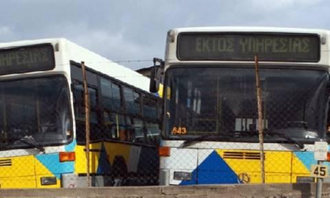 Παράνομη η απεργία στα λεωφορεία