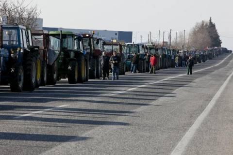 Σέρρες:Σε πλατείες και κομβικά σημεία επαρχιακών οδών αύριο τα τρακτέρ