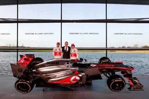 Παρουσιάστηκε με κάθε επισημότητα η McLaren MP4-28 (pics)