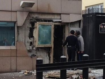 Έκρηξη στην αμερικανική πρεσβεία στην Άγκυρα