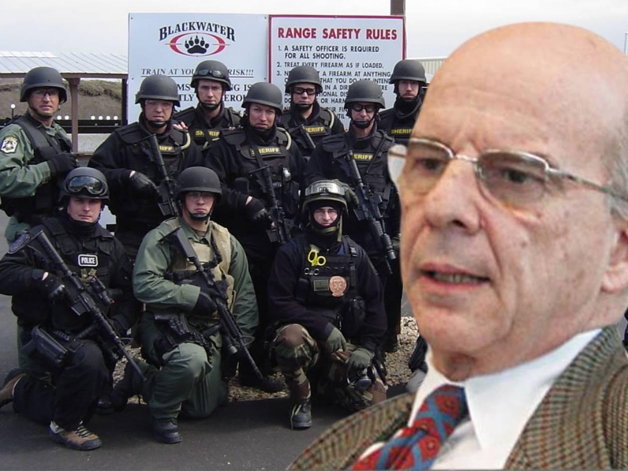 Χρυσανθόπουλος: Η «Blackwater» φυλάει τη Βουλή!