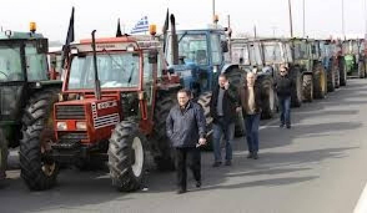 Σέρρες: Κλειστή η Εγνατία από τους αγρότες