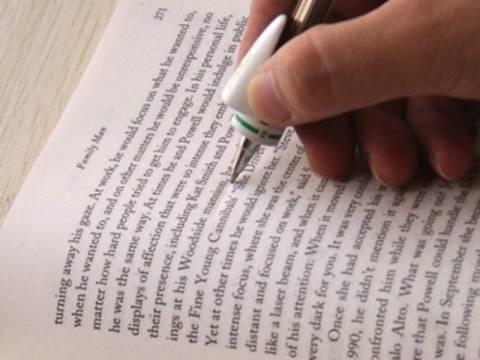 Απίστευτο: Στυλό που μεταφράζει την ώρα που διαβάζετε!