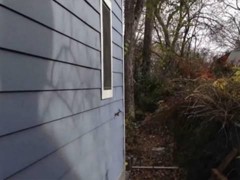 Απίστευτο καμουφλάζ: Βρείτε την πόρτα αυτού του σπιτιού (vid)