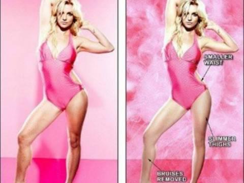 Celebrities πριν και μετά το Photoshop (pics)