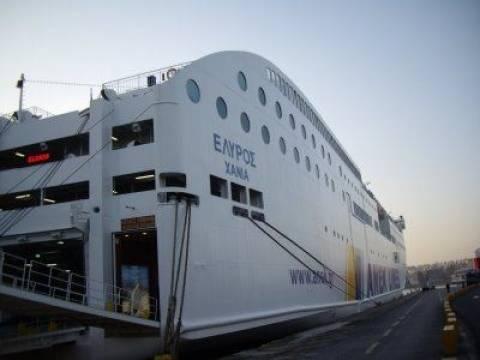 Αναχωρεί το βράδυ πλοίο από τα Χανιά με αγροτικά προϊόντα
