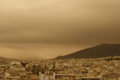 Στα «κόκκινα» η ρύπανση λόγω Σαχάρας