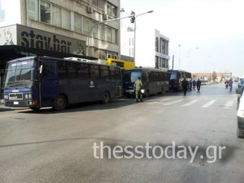 ΤΩΡΑ: Κλειστή η παραλιακή της Θεσσαλονίκης