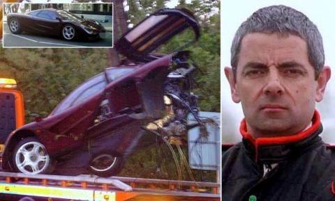1 εκατ. ευρώ η επισκευή για το τρακαρισμένο αμάξι του Mister Bean