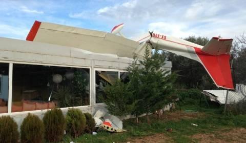 ΑΠΙΣΤΕΥΤΕΣ ΕΙΚΟΝΕΣ: Ανεμοστρόβιλος «χτύπησε» την Αερολέσχη Τατοΐου