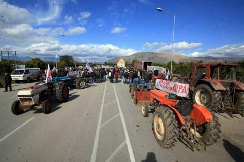 Χημικά κατά των αγροτών στη Λάρισα