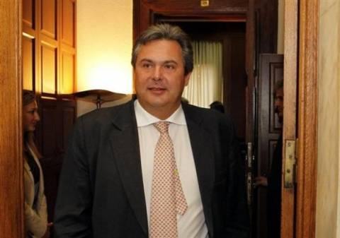 Σε διεθνές συνέδριο για την ασφάλεια της Ν/Α Μεσογείου ο Καμμένος
