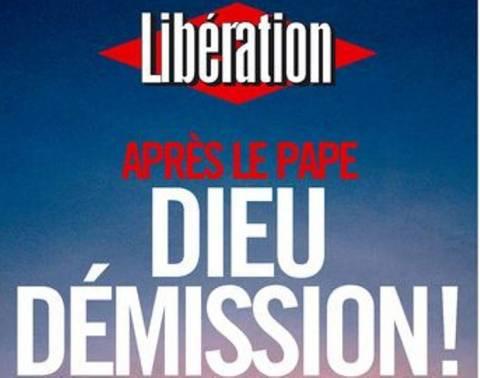 Liberation: Μετά τον Πάπα, Θεέ παραιτήσου!