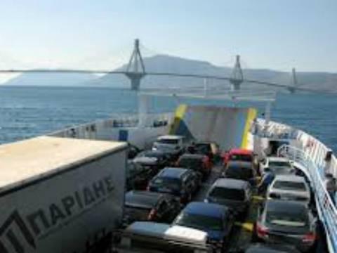 Τρόμος στο Ρίο – Αντίρριο: Πλοίο προσέκρουσε σε πυλώνα της γέφυρας!
