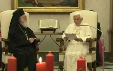 Ο Αρχιεπίσκοπος Αναστάσιος για την παραίτηση του Πάπα Βενέδικτου