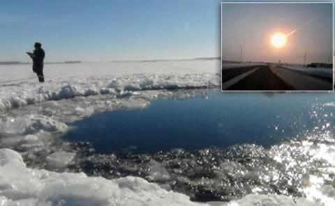 Δείτε: Εδώ έπεσε ο μετεωρίτης στη Ρωσία (pics)