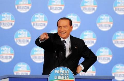 Μπερλουσκόνι: «Αν χάσει ο Μόντι, θα μεθύσω»