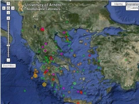 Οι χθεσινοί σεισμοί προάγγελος για έναν ΜΕΓΑΛΟ που έρχεται;