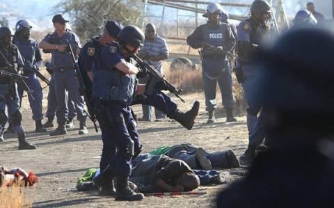 Σοκ-Πυροβόλησαν εργάτες που διαμαρτύρονταν εν ψυχρώ