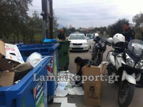 Απίστευτο: Έγγραφα του Δημοσίου στα σκουπίδια! (pics)