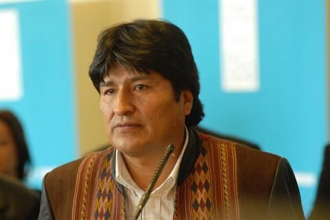 Ο πρόεδρος της Βολιβίας δεν κατάφερε να δει τον Τσάβες