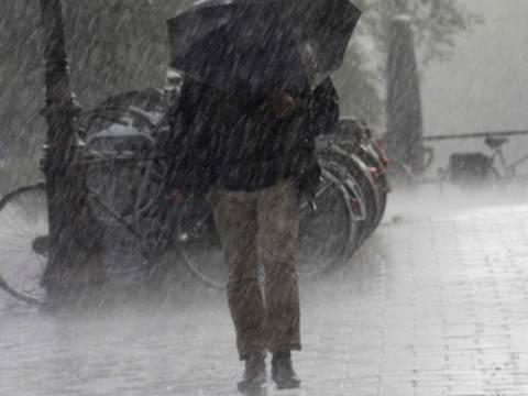 Βροχές και καταιγίδες το σημερινό χαρακτηριστικό του καιρού