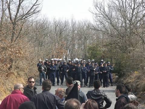 Συλλαλητήριο για τα μεταλλεία χρυσού – Αυξημένα μέτρα από την ΕΛ.ΑΣ.
