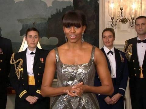 Βίντεο: Η εμφάνιση-έκπληξη της Μισέλ Ομπάμα στα Όσκαρ