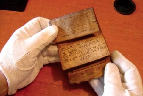 ΣΟΚ: Ανακάλυψαν πορτοφόλι από δέρμα μανιακού δολοφόνου! (pics)