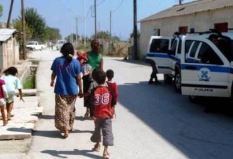 Αστυνομική επιχείρηση σε καταυλισμό ΡΟΜΑ στα Ψαχνά Ευβοίας