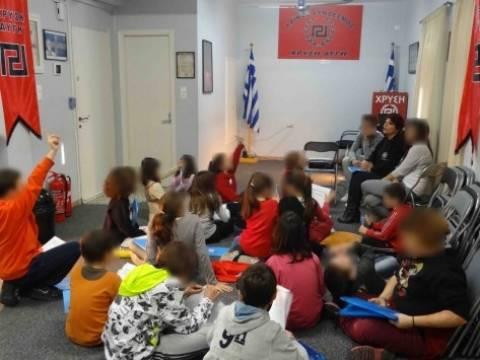 Η Χρυσή Αυγή κάνει... κατήχηση σε παιδιά 6 ετών! (pics)