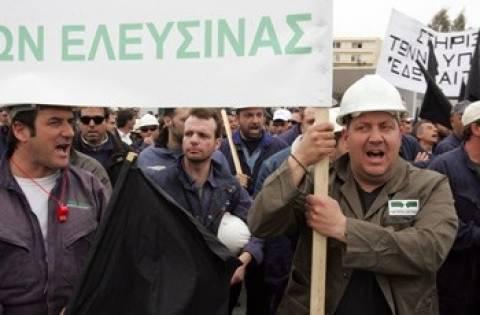 Νέα απεργία των εργαζομένων στα ναυπηγεία Ελευσίνας