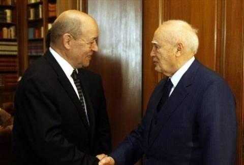 Στον Πρόεδρο της Δημοκρατίας ο Ζαν Ιβ Λε Ντριάν