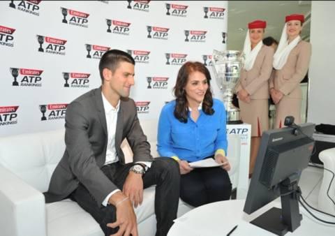 Η Emirates και ο Νόβακ Τζόκοβιτς «κάνουν παρέα» με τους οπαδούς τους