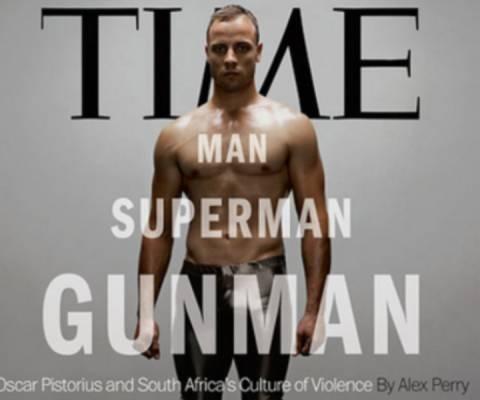 Εξώφυλλο στο TIME ο Πιστόριους