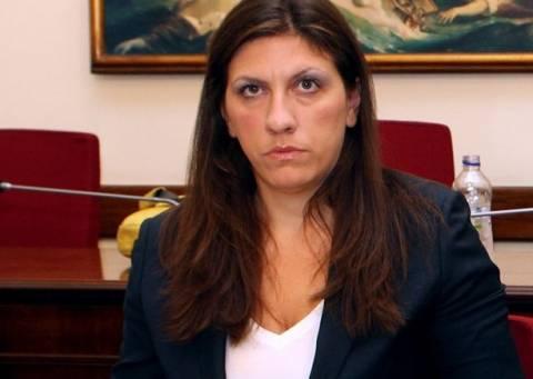 Μηνύσεις υπόσχεται η Κωνσταντοπούλου εναντίον της ΝΔ