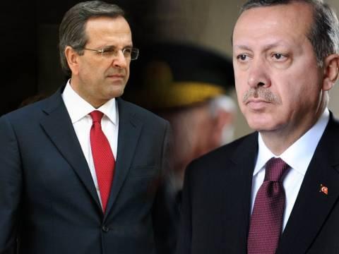Σαμαράς και Ερντογάν για ΑΟΖ, ιμάμηδες και «κουτσομπολιά»