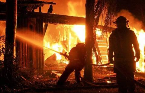 Φωτιά στο Πανεπιστήμιο Πατρών