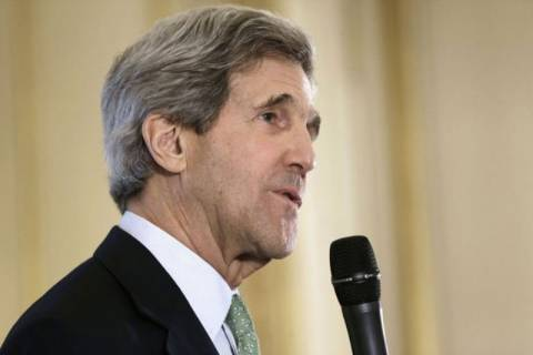 Συρία και Ιράν στο επίκεντρο των συναντήσεων του Τζον Κέρι