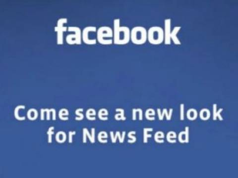 Φτου κι από την αρχή: Σε τρεις ημέρες το Facebook αλλάζει πάλι!