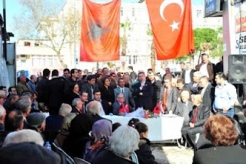 Βίντεο: Οι Τσάμηδες ιδρύουν παράρτημα στην Τουρκία