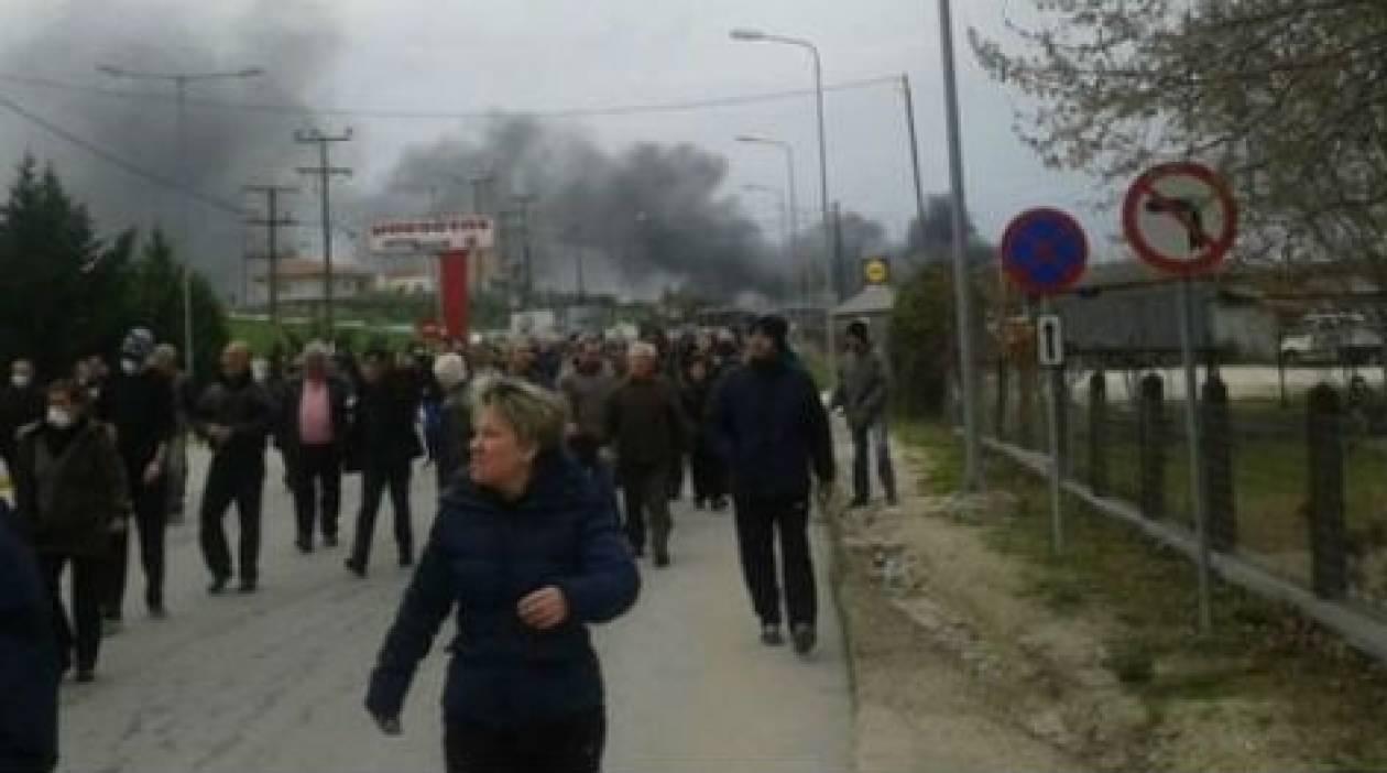 Ιερισσός: Συμφώνησαν σε αποκλιμάκωση