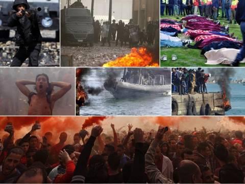Φωτιές και έκτροπα στο Κάιρο