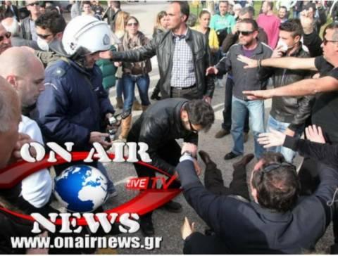 Δώδεκα τραυματίες κατά την φυγάδευση του Σαλμά στο Μεσολόγγι