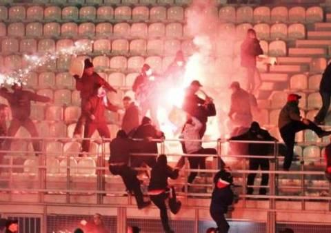 Δύο τραυματίες από επεισόδια στο γήπεδο του Πανελληνίου